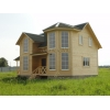 Новый двухэтажный дом с верандой,  рядом с озером Плещеево