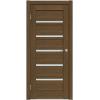 Надежная дверь Соло 2-47,  цвет Орех Антик, 5 стекл